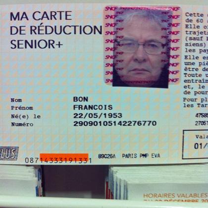 Carte Senior Sncf.Sncf Renouvellement Carte Reduction Senior Promo Code Boat Show